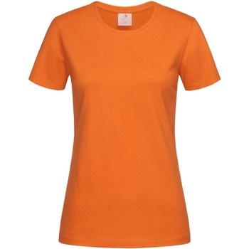 Vêtements Femme T-shirts manches courtes Stedman Classics Orange