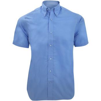 Vêtements Homme Chemises manches courtes Kustom Kit Business Bleu clair