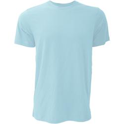 Vêtements Homme T-shirts manches courtes Bella + Canvas Jersey Bleu glacé chiné
