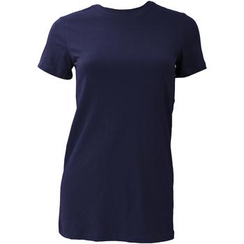 Vêtements Femme T-shirts manches courtes Bella + Canvas BE6004 Bleu marine
