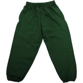 Vêtements Enfant Pantalons de survêtement Jerzees Schoolgear 750B Vert bouteille