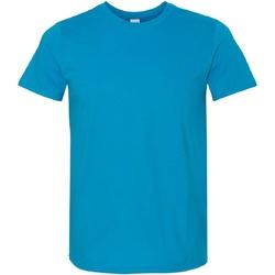 Vêtements Homme T-shirts manches courtes Gildan Soft-Style Bleu saphir
