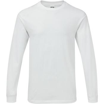 Vêtements Homme T-shirts manches longues Gildan Hammer Blanc