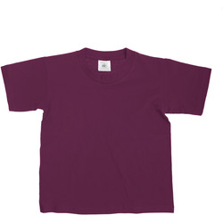 Vêtements Enfant T-shirts manches courtes B And C TK300 Bordeaux