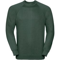 Vêtements Sweats Russell Sweatshirt classique BC573 Vert bouteille