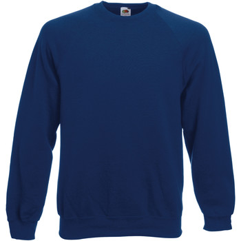 Vêtements Enfant Sweats Fruit Of The Loom Raglan Bleu marine