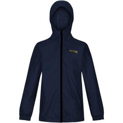 Vêtements Enfant Coupes vent Regatta Pack It Bleu nuit