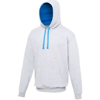 Vêtements Sweats Awdis Hooded Gris chiné / bleu saphir