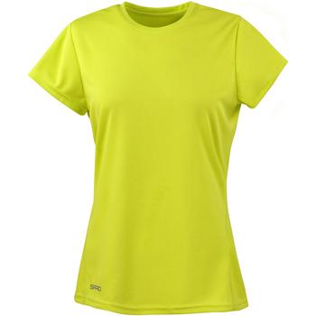 Vêtements Femme T-shirts manches courtes Spiro Performance Vert citron