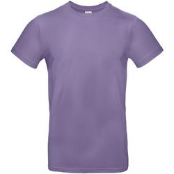 Vêtements Homme T-shirts manches courtes B And C E190 Violet clair