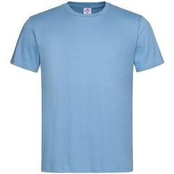 Vêtements Homme T-shirts manches courtes Stedman Classics Bleu clair
