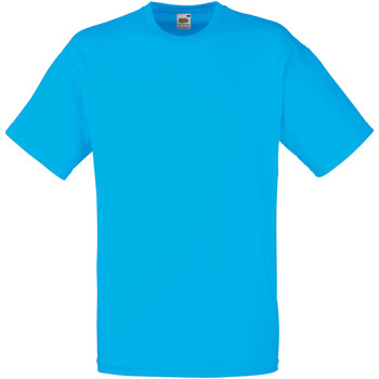 Vêtements Homme T-shirts manches courtes Fruit Of The Loom Valueweight Bleu vif