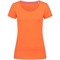 Vêtements Femme T-shirts manches courtes Stedman Stars Megan Orange