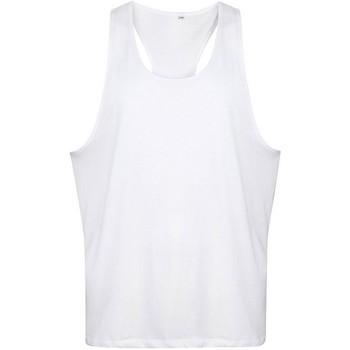 Vêtements Homme Débardeurs / T-shirts sans manche Tanx  Blanc