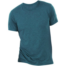 Vêtements Homme T-shirts manches courtes Bella + Canvas Triblend Bleu acier