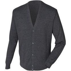 Vêtements Homme Gilets / Cardigans Henbury HB722 Gris marne