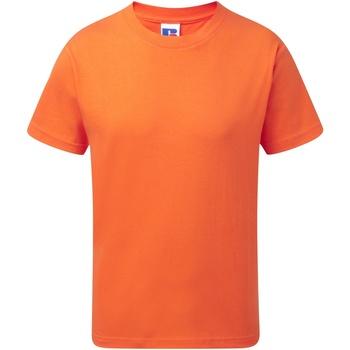 Vêtements Enfant T-shirts manches courtes Jerzees Schoolgear J155B Orange