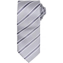Vêtements Homme Cravates et accessoires Premier PR783 Argent/Gris foncé