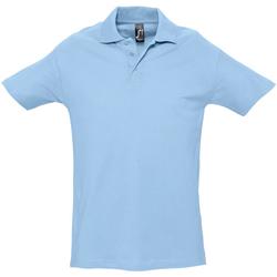 Vêtements Homme Polos manches courtes Sols Spring Bleu ciel