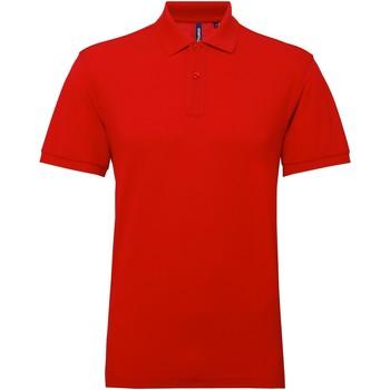 Vêtements Homme Polos manches courtes Toutes les chaussures femme Performance Rouge cerise