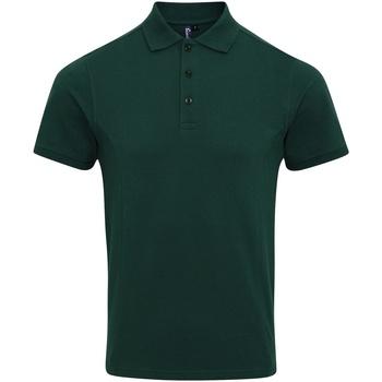 Vêtements Homme Polos manches courtes Premier Coolchecker Vert bouteille