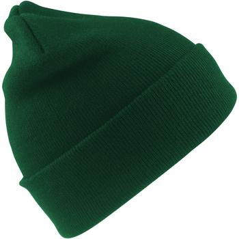 Accessoires textile Garçon Bonnets Result Ski Vert bouteille