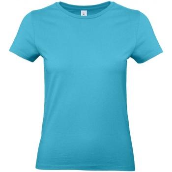 Vêtements Femme T-shirts manches courtes B And C E190 Bleu clair