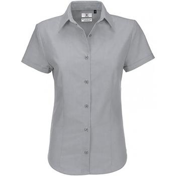 Vêtements Femme Chemises / Chemisiers B And C SWO04 Lune argentée