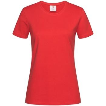 Vêtements Femme T-shirts manches courtes Stedman Comfort Rouge
