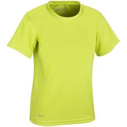 Vêtements Enfant T-shirts manches courtes Spiro S253J Vert citron