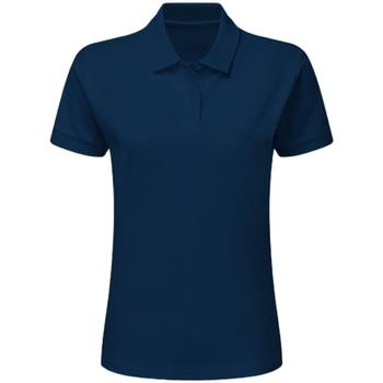 Vêtements Garçon Polos manches courtes Sg SG59K Bleu marine