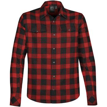 Vêtements Homme Chemises manches longues Stormtech Logan Noir / rouge
