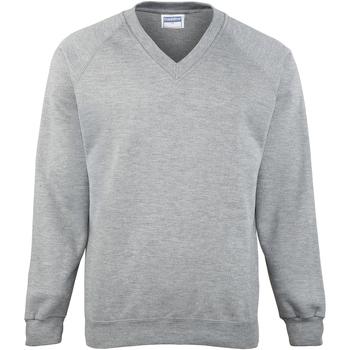 Vêtements Homme Sweats Maddins Coloursure Gris Oxford