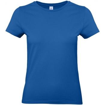 Vêtements Femme T-shirts manches courtes B And C E190 Bleu roi