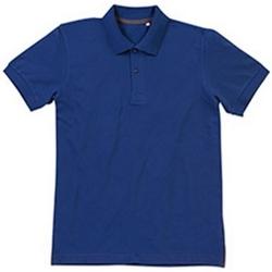 Vêtements Homme Polos manches courtes Stedman Stars Henry Bleu Roi