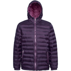 Vêtements Homme Doudounes 2786 Hooded Violet/ Mauve
