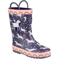 Chaussures Enfant Bottes de pluie Cotswold Sprinkle Violet