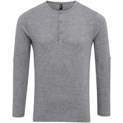 Vêtements Homme T-shirts manches longues Premier Long John Gris marne