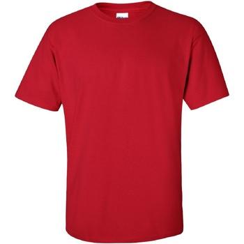 Vêtements Homme T-shirts manches courtes Gildan Ultra Rouge cerise