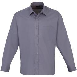 Vêtements Homme Chemises manches longues Premier PR200 Acier