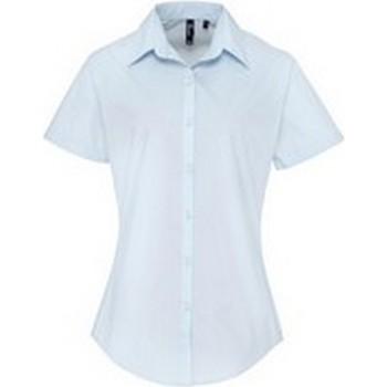 Vêtements Femme Chemises / Chemisiers Premier PR309 Bleu clair