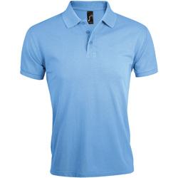 Vêtements Homme Polos manches courtes Sols Prime Bleu ciel