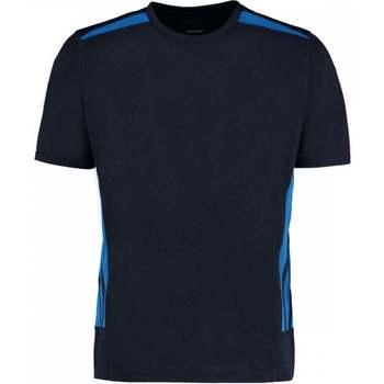 Vêtements Homme T-shirts manches courtes Gamegear KK930 Bleu marine/Bleu électrique