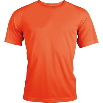 Vêtements Homme T-shirts manches courtes Kariban Proact Proact Orange fluo