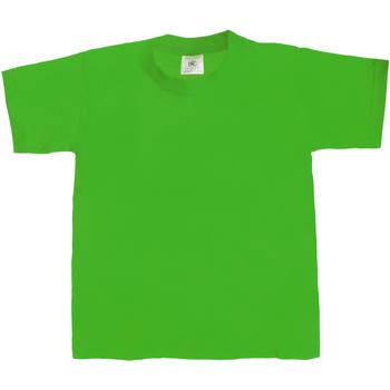 Vêtements Enfant T-shirts manches courtes B And C Exact 190 Vert tendre
