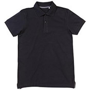 Vêtements Homme Polos manches courtes Stedman Stars Henry Noir