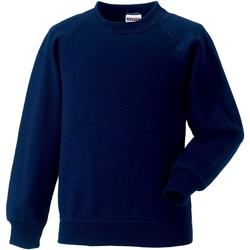 Vêtements Enfant Sweats Jerzees Schoolgear Raglan Bleu marine