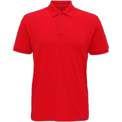 Vêtements Homme Polos manches courtes Asquith & Fox  Rouge