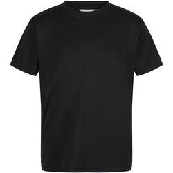 Vêtements Enfant T-shirts manches courtes Regatta Torino Noir