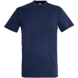 Vêtements Homme T-shirts manches courtes Sols 11380 Bleu